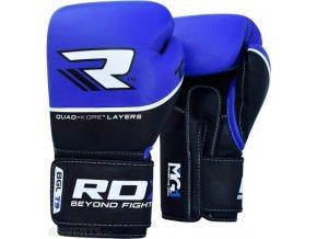 Boxerské rukavice T-9  (MODRÉ)