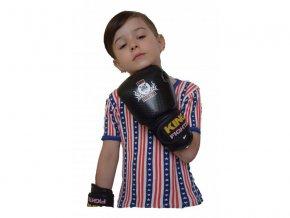 Dětské boxerské  rukavice  černé carbon