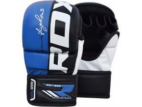 MMA rukavice grapling REX modré