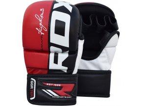 MMA rukavice grapling REX červené