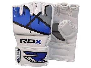 MMA rukavice RDX T7 modré