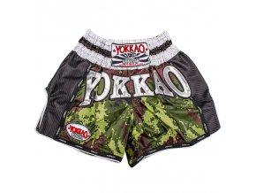 Muay thai trenky Yokkao Army carbon