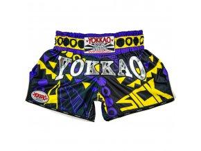 Muay thai trenky Yokkao Sick Yellow