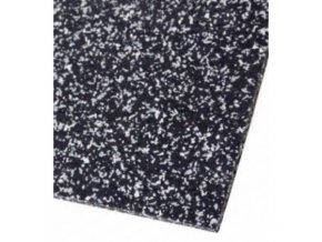 Gumová fitness podlaha (tl: 7,5mm)
