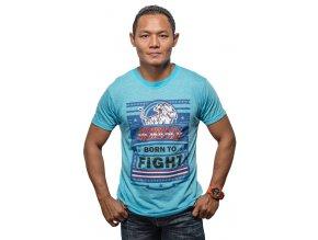 Triko Yokkao Born to Fight modré