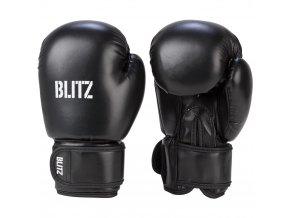 Dětské boxerské  rukavice černé Blitz