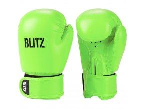 Dětské boxerské  rukavice zelené Blitz