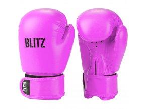 Dětské boxerské  rukavice růžové Blitz