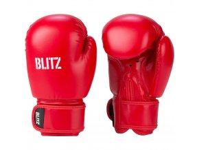 Dětské boxerské  rukavice červené Blitz