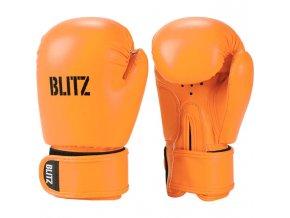 Dětské boxerské  rukavice oranžové Blitz