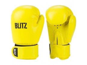 Dětské boxerské  rukavice žluté Blitz