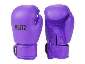 Dětské boxerské  rukavice fialové Blitz
