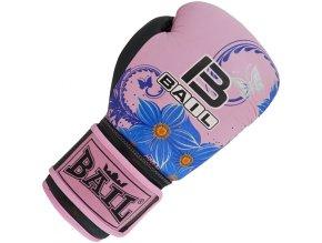 Boxerské rukavice Royal růžové