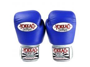 Boxerské rukavice modré Yokkao