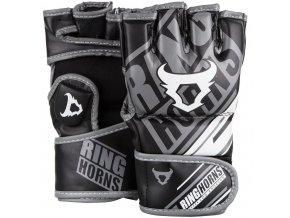 MMA rukavice Ring Horns Nitro černé