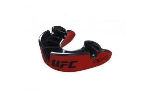 Chrániče zubů OPRO UFC silver (červená/černá)