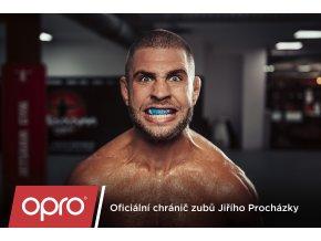 Chrániče zubů JUNIOR OPRO UFC bronze (černé)