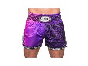 Thai trenky Sandee Warrior (fialová/růžová)