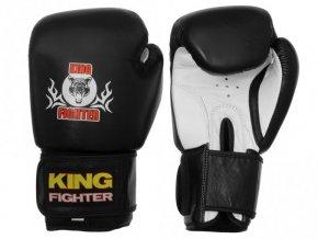Boxerské rukavice King Fighter černé