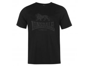 Triko Lonsdale černé