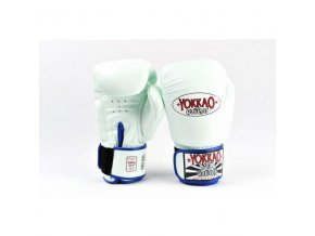 Boxerské rukavice bílé