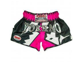 Muay thai trenky Yokkao Frost Pink