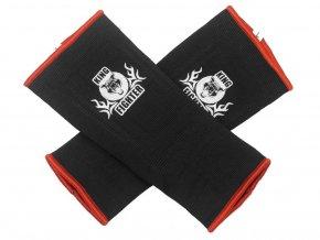 Bandáže kotníků černá/červená