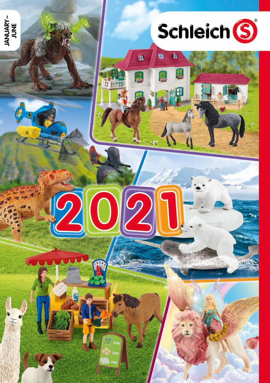 Otevřít katalog Schleich 2021