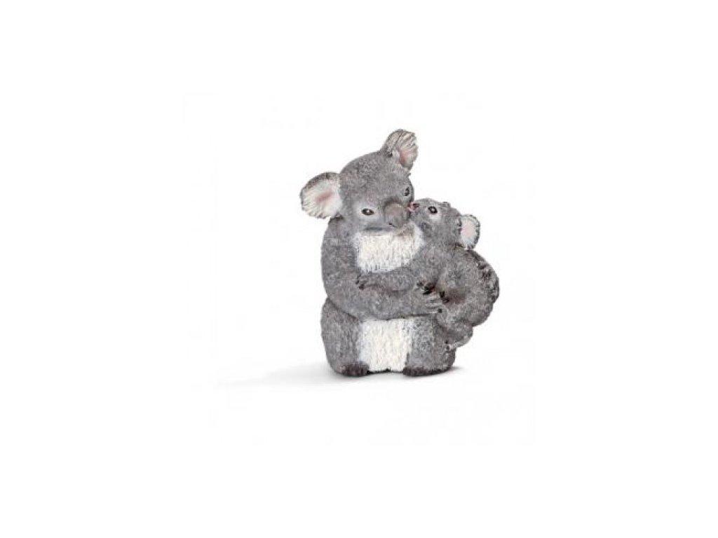 22101 schleich 14677 samice medvidka koala
