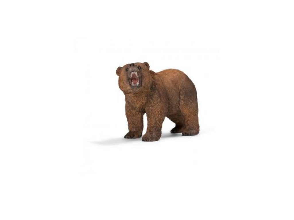 22119 schleich 14685 medved grizzly