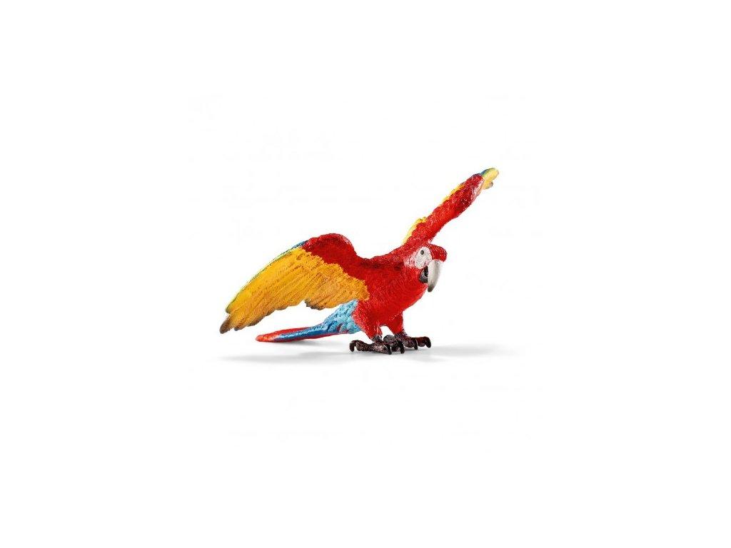22215 schleich 14737 papousek ara