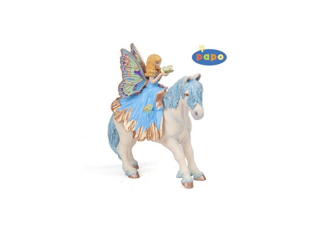 23076 papo 38827 pony k elfce v modrych satech