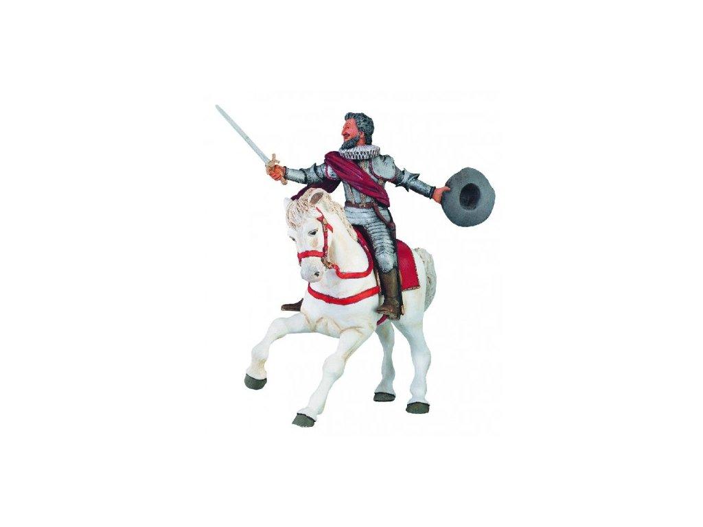 23205 papo 39714 kral jindrich iv bez kone