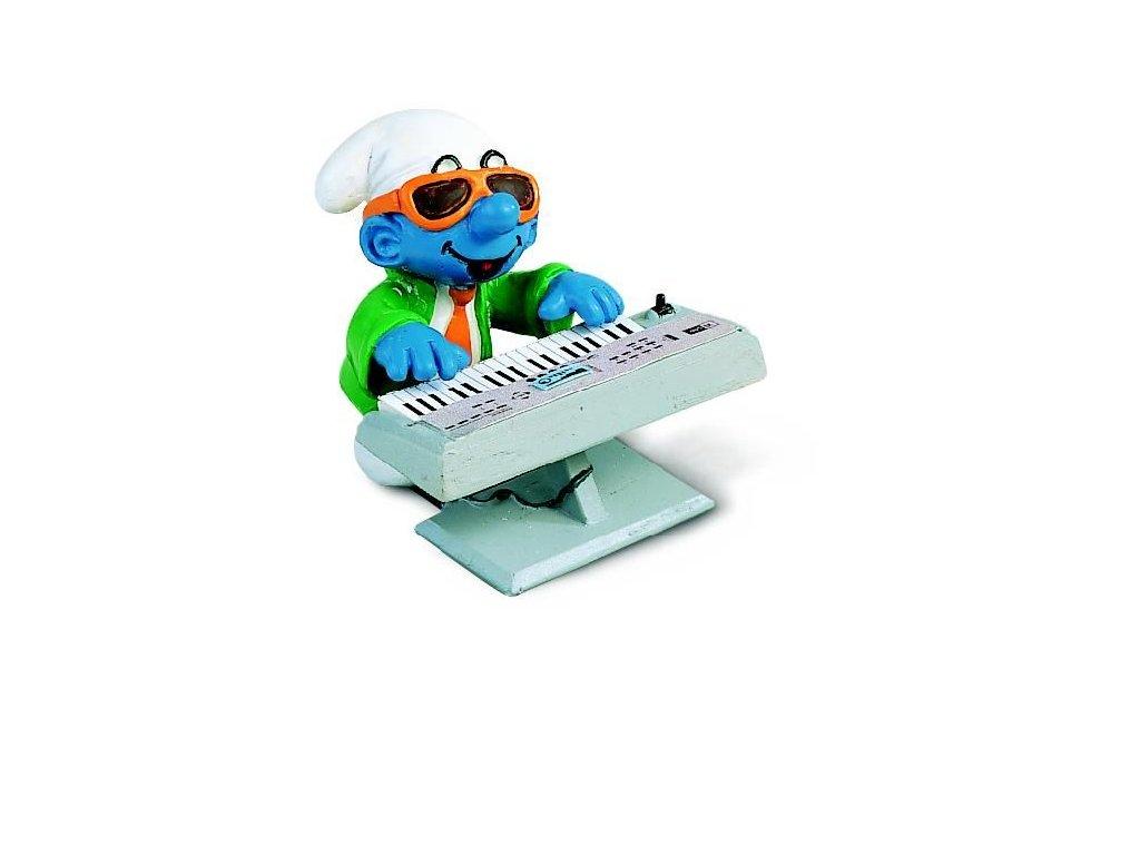 23268 schleich 40250 smoula s keyboardem