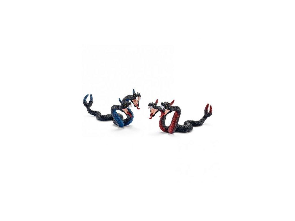 23451 schleich 42154 jedovate dvouhlave zmije