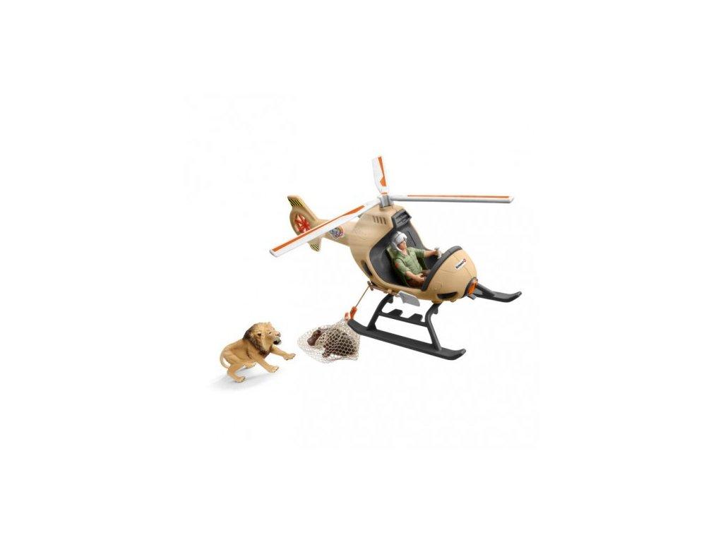 23694 schleich 42476 zachranny vrtulnik pro zvirata