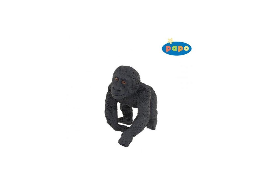23790 papo 50109 gorila mlade