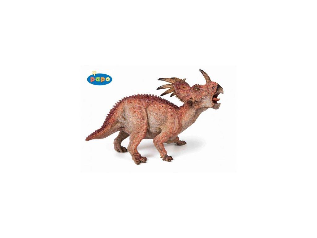 23856 papo 55020 styracosaurus
