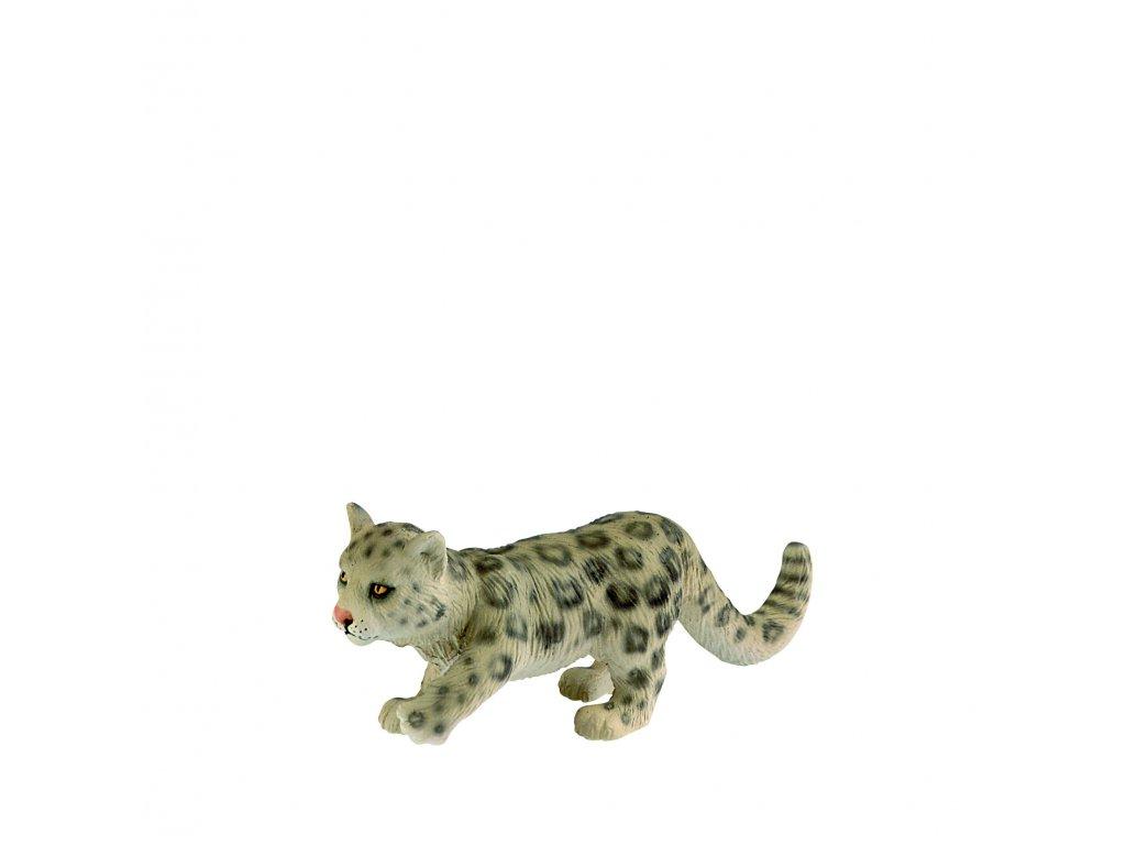 23910 bullyland 63599 snezny leopard mlade