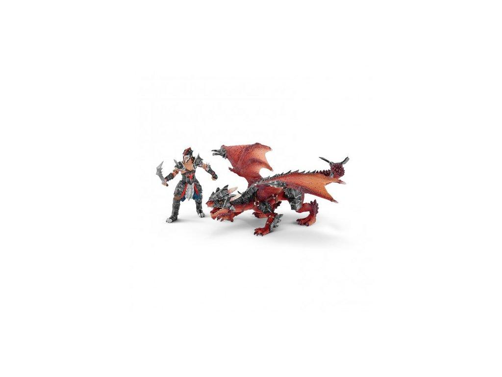24048 schleich 70128 bojovnik s drakem