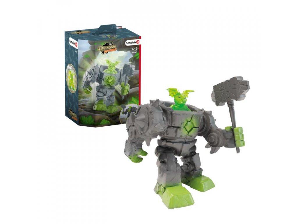 Schleich 42547 Eldrador Mini Creatures Kamenný robot