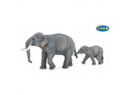 23805 papo 50131 slonice asijska