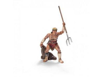 24012 schleich 70075 retiarius gladiator