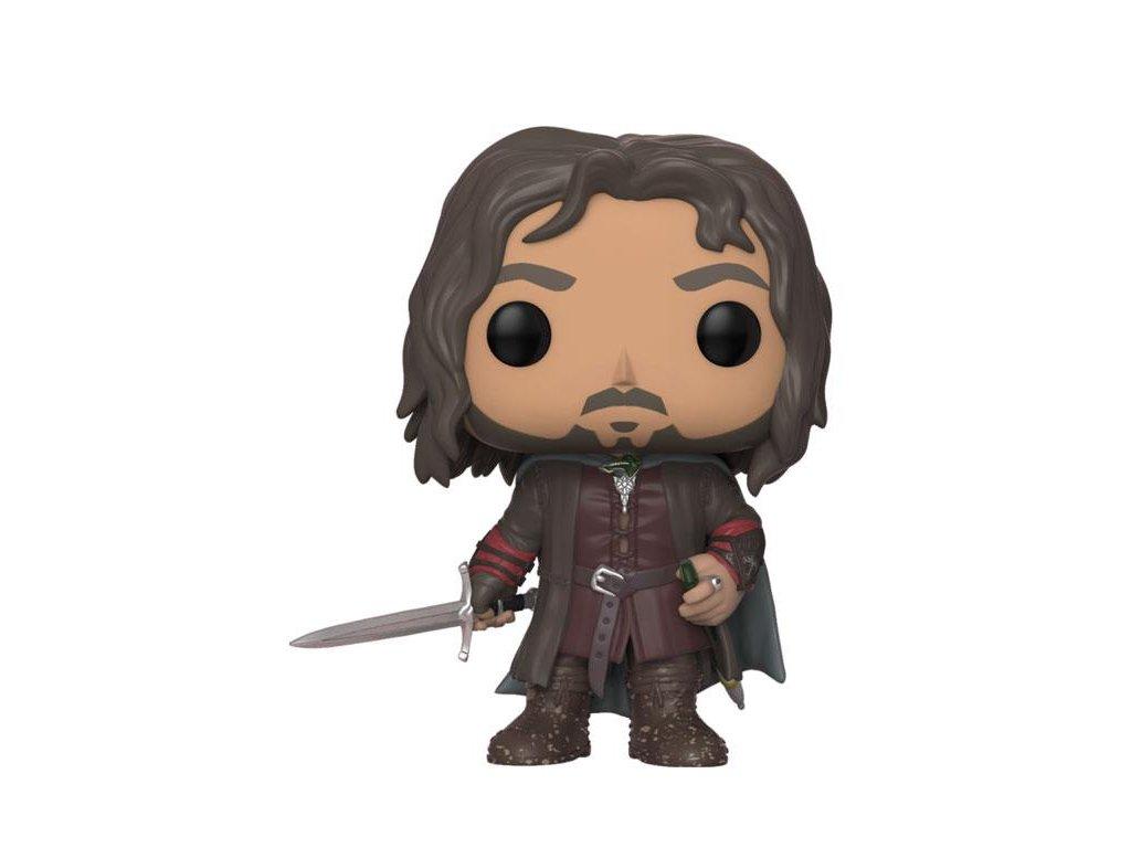 Lord of the Rings POP! Movies Vinyl Figure Aragorn 9 cm Funko