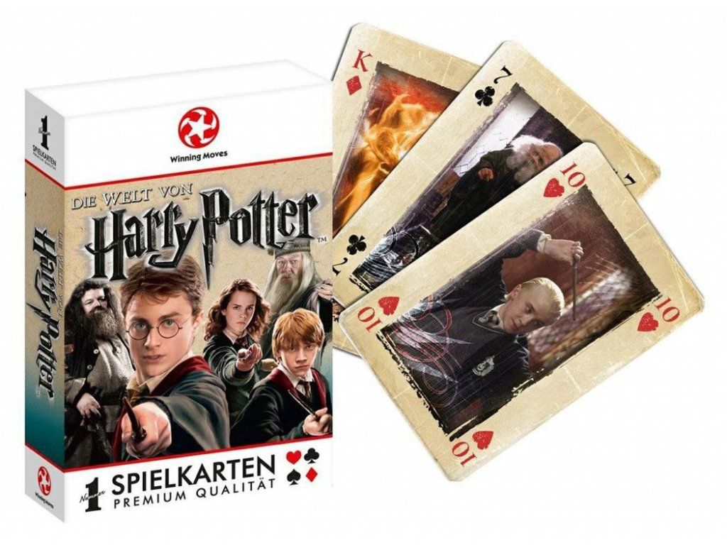 Harry Potter Number 1 Playing Cards *German Packaging* Winning Moves
