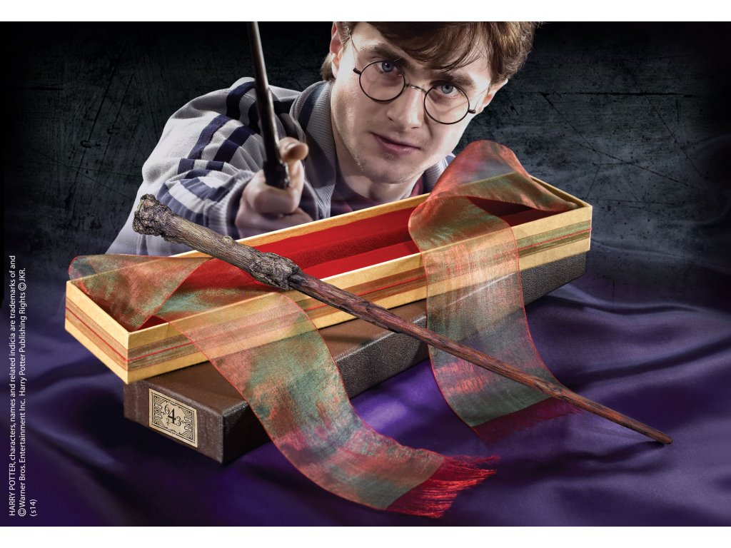 hulka harry potter s krabickou od ollivandera harry potter noble collection