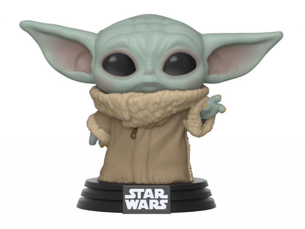 Star Wars The Mandalorian Vinylová Figurka Baby Yoda 9 cm Funko POP!