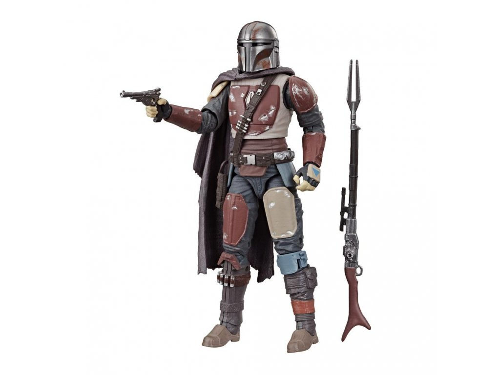 Star Wars The Mandalorian Black Series Carbonized Akční Figurka 15 cm Hasbro
