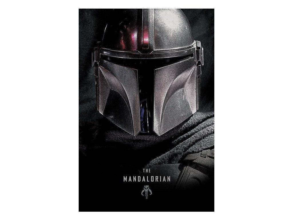 Star Wars The Mandalorian Plakát Tmavý 61 x 91 cm Pyramid International