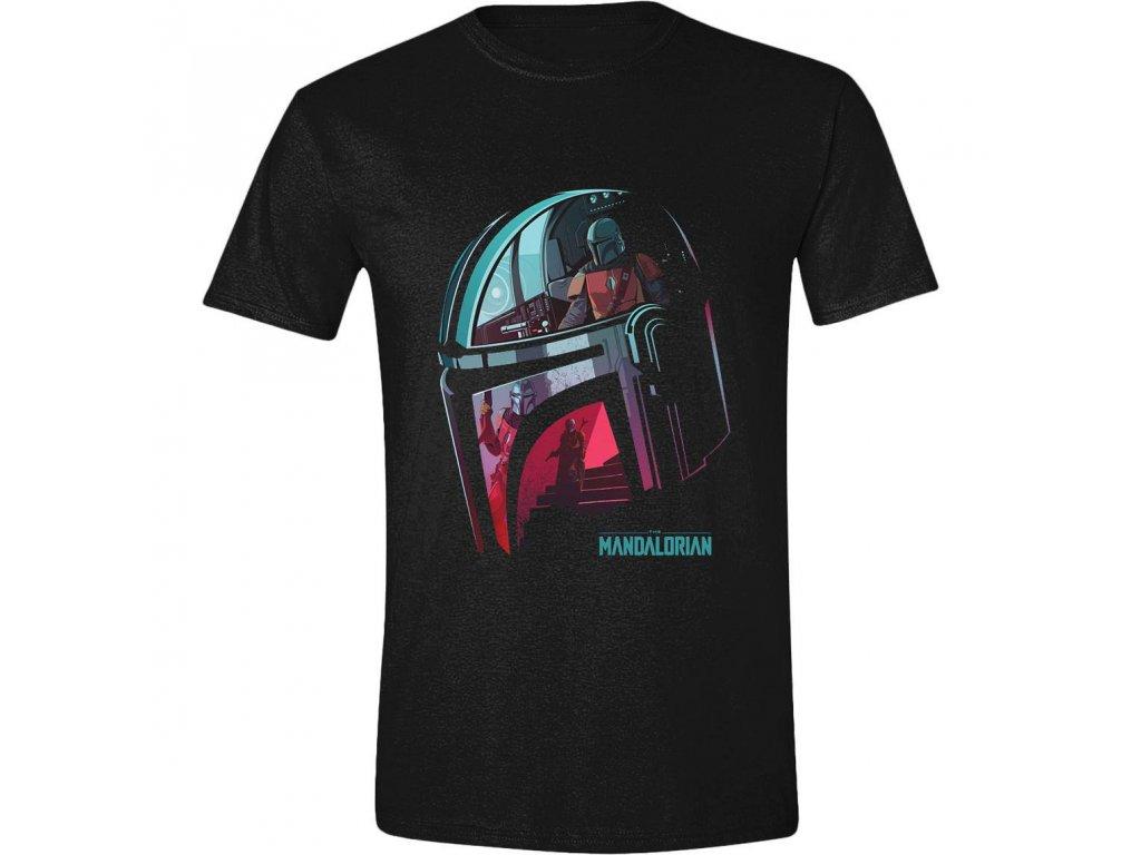Star Wars The Mandalorian Tričko Reflection PCM